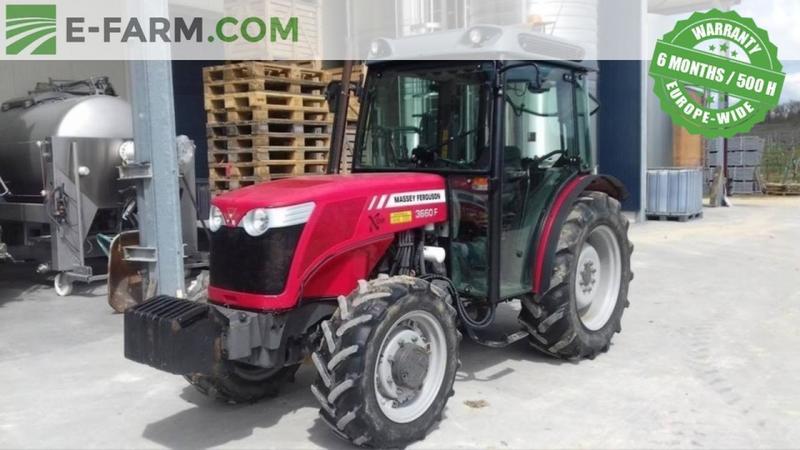 Wheel tractor Massey Ferguson 3660 F - Truck1 ID: 2814526