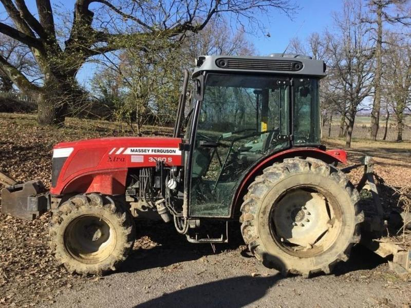 Massey Ferguson 3660 XTRA version S wheel tractor from