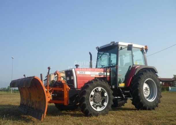 Massey Ferguson 393 wheel tractor from Italy for sale at