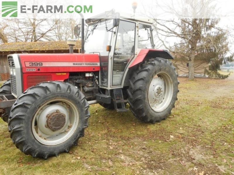 Wheel tractor Massey Ferguson 399 - Truck1 ID: 2809504