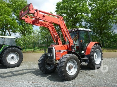 Massey Ferguson 6160 wheel tractor from Germany for sale at Truck1