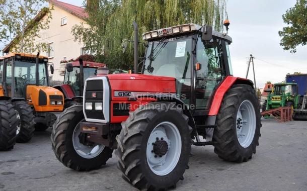 Wheel tractor Massey Ferguson 6160 - Truck1 ID: 2672171
