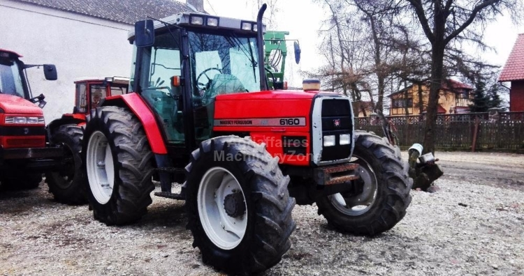 Massey Ferguson 6160 wheel tractor from Poland for sale at Truck1