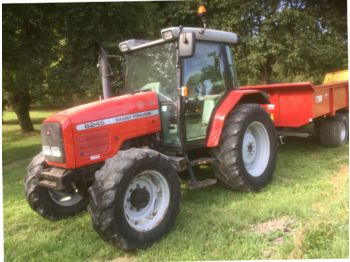 MASSEY FERGUSON 6255 wheel tractor from France for sale at Truck1