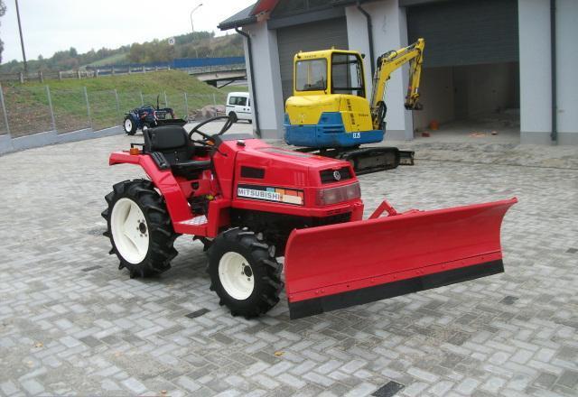 Iseki Tractor Tire Rims : Mini traktor traktorek mitsubishi mt pług odśnieżarka