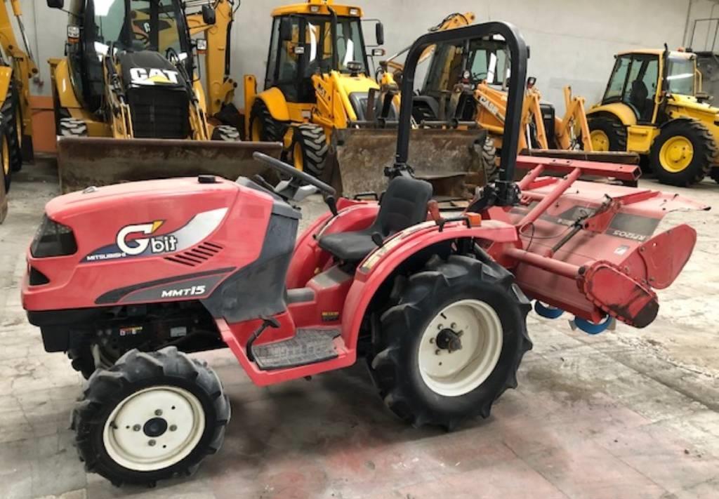 wheel tractor Mitsubishi MMT15