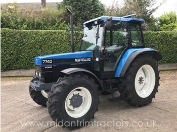 Wheel tractor NEW HOLLAND
