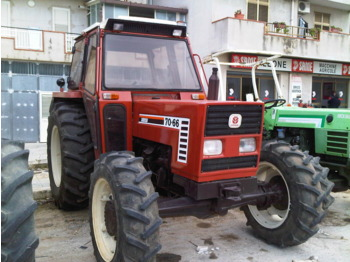Wheel tractor NEW HOLLAND FIAT DT 7066: picture 1