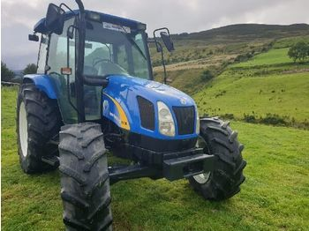NEW HOLLAND TL100A - wheel tractor