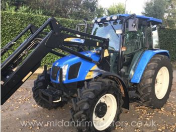 Wheel tractor NEW HOLLAND TLA100