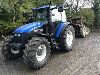 NEW HOLLAND TS115 - wheel tractor