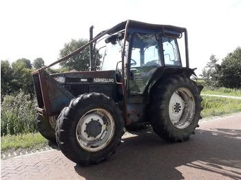 Wheel tractor New Holland 6640 SLE