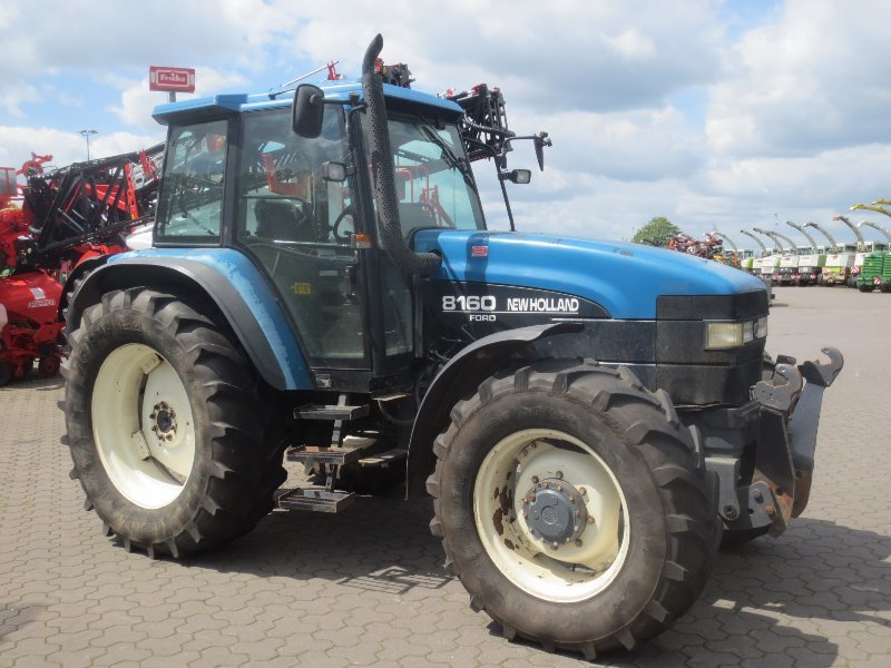 New Holland Ford >> Wheel Tractor New Holland 8160 Ford 8160 Truck1 Id 3738676
