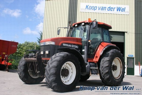 New Holland Ford >> Wheel Tractor New Holland Ford G190 Truck1 Id 836755