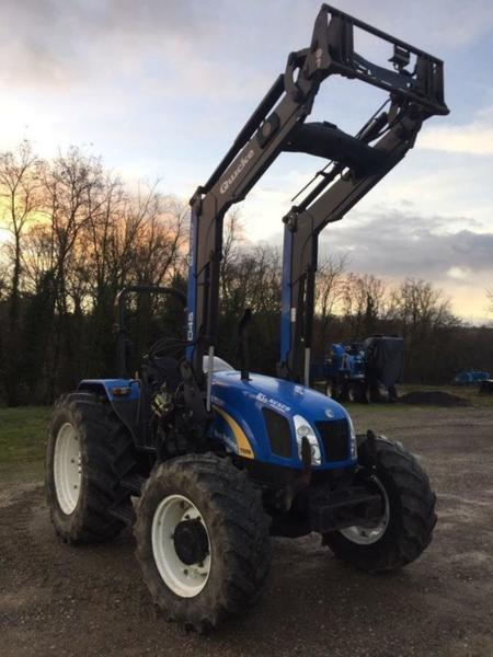 Wheel tractor New Holland T5050 - Truck1 ID: 3391226