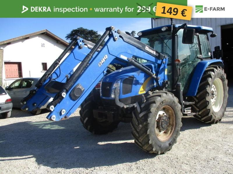 Wheel tractor New Holland T5050 - Truck1 ID: 3216923