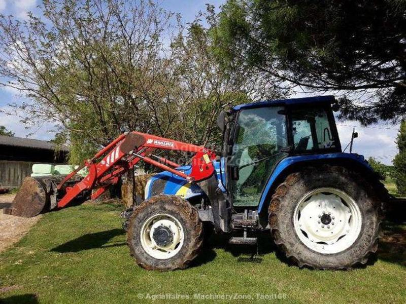 Wheel tractor New Holland T5050 - Truck1 ID: 3030206