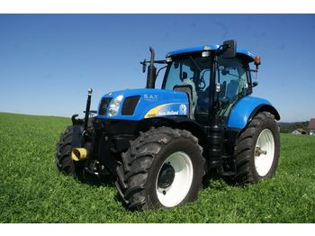 New Holland T6080 Range & Power Command  - wheel tractor
