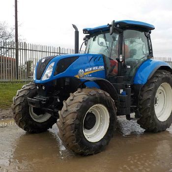 New Holland T7 190 wheel tractor from United Kingdom for