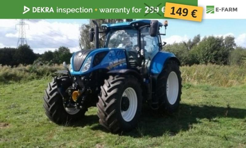 New Holland T7 210 wheel tractor from Germany for sale at Truck1, ID