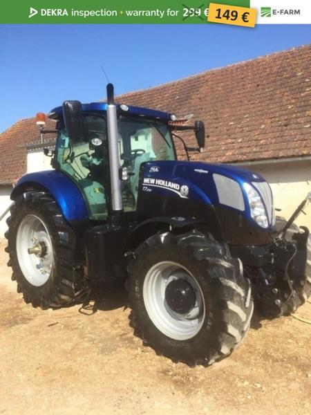 Wheel tractor New Holland T7 210 - Truck1 ID: 3183841
