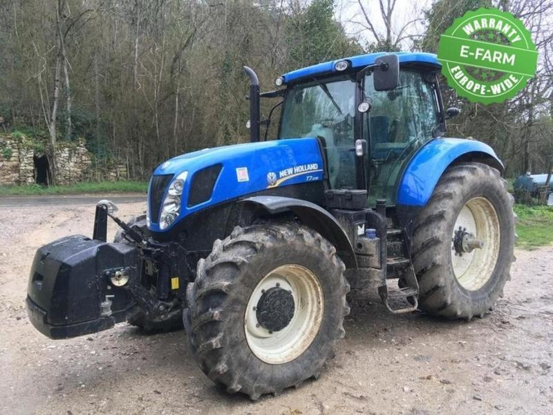 Wheel tractor New Holland T7 235 PC - Truck1 ID: 3441859