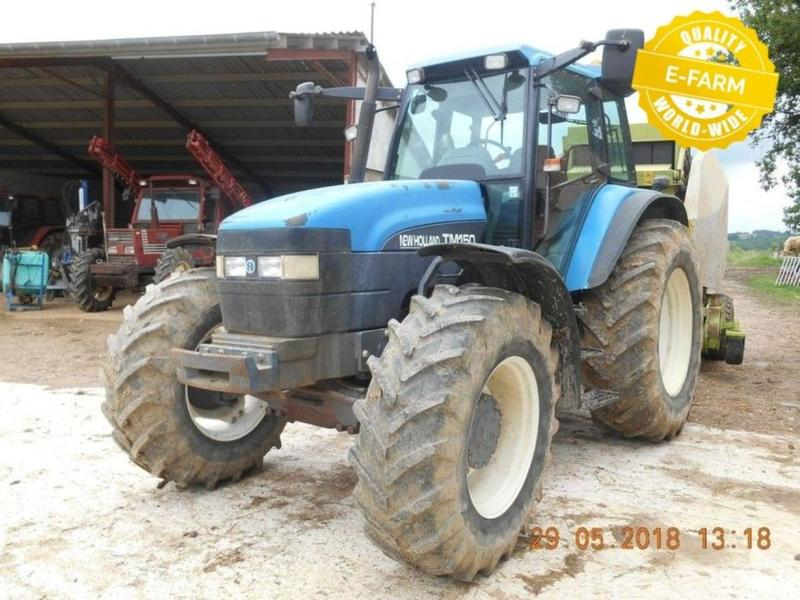 New Holland TM150 wheel tractor from Germany for sale at Truck1, ID