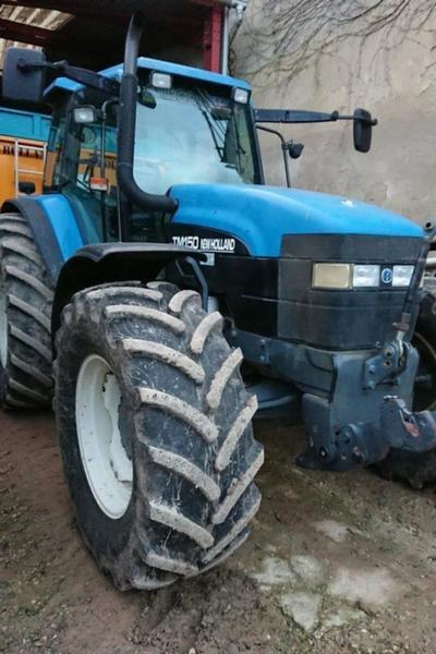 New Holland TM150 wheel tractor from Germany for sale at