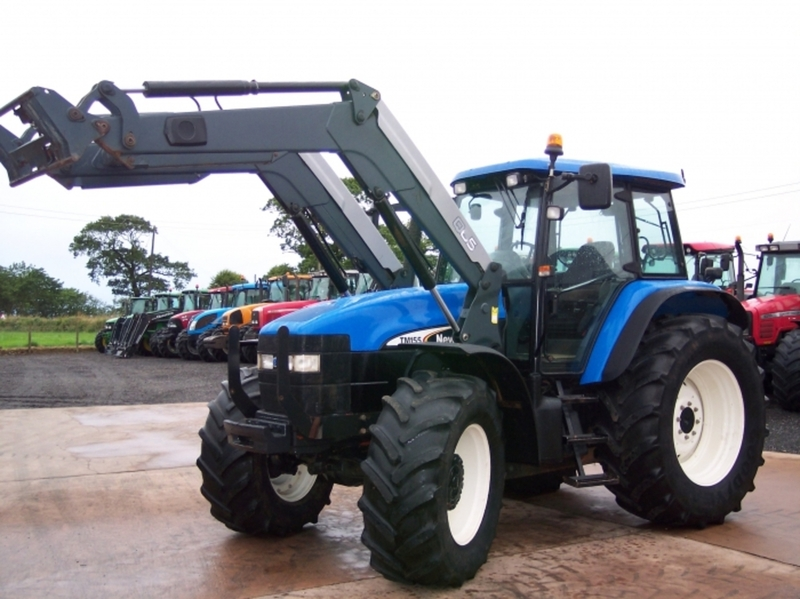New Tractor Rims : New holland tm wheel tractor from norway for sale at