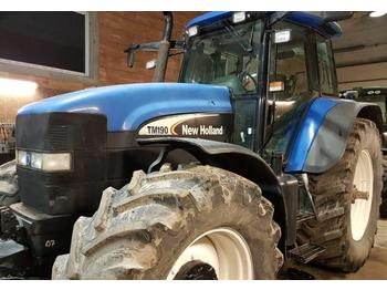 New Holland TM 190 with dual wheels  - wheel tractor
