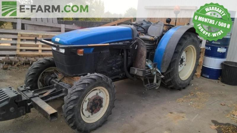 New Holland TN80F wheel tractor from Germany for sale at
