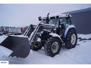 New Holland TS110 - wheel tractor