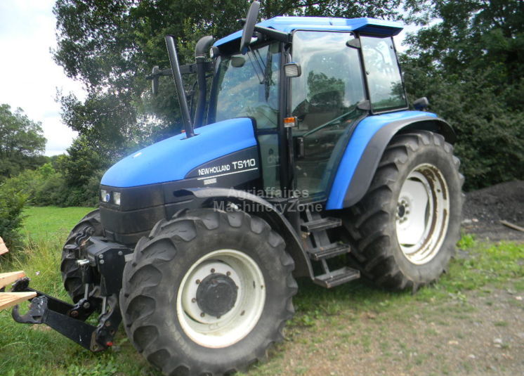 New Holland TS110 wheel tractor from France for sale at Truck1, ID