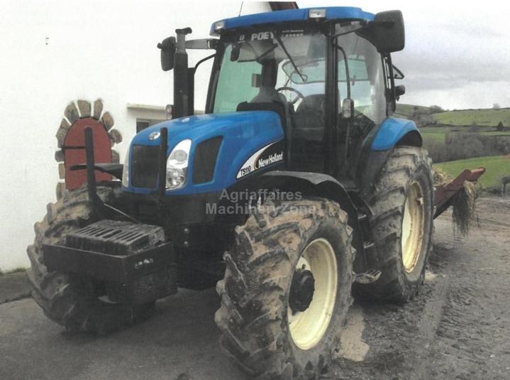 Top 10 Punto Medio Noticias | Agriaffaires New Holland Ts110