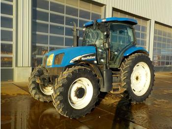 New Holland TS115A - wheel tractor