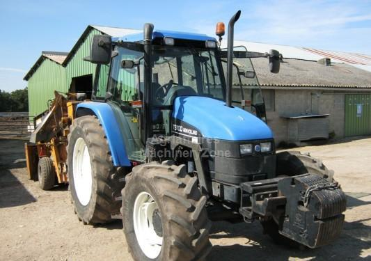 Berühmt New Holland TS 100 wheel tractor from France for sale at Truck1 @UA_45