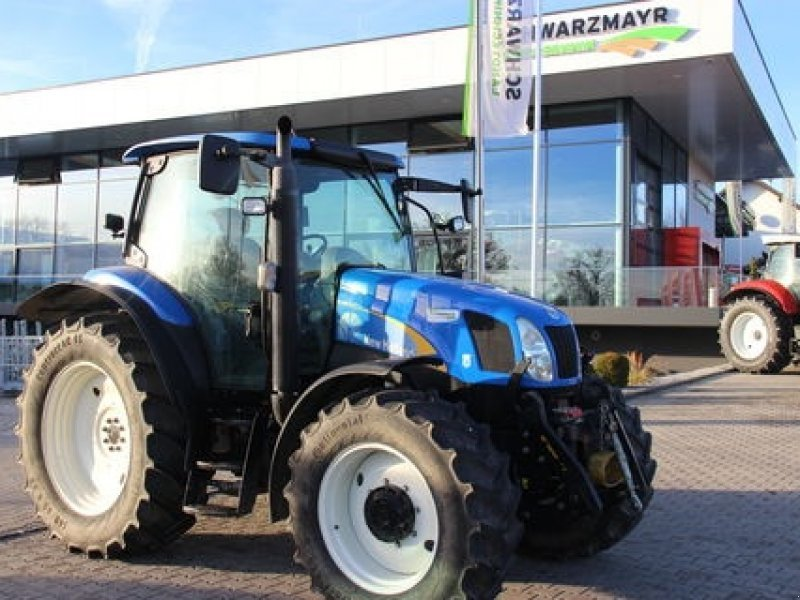 Gemeinsame New Holland TS 100 Dual Command wheel tractor from Austria for #FQ_31
