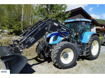 New Holland TVT 170 - wheel tractor