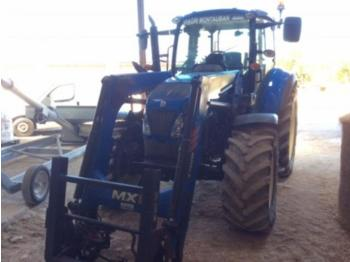 Wheel tractor New Holland t 5.105 electro command + chargeur