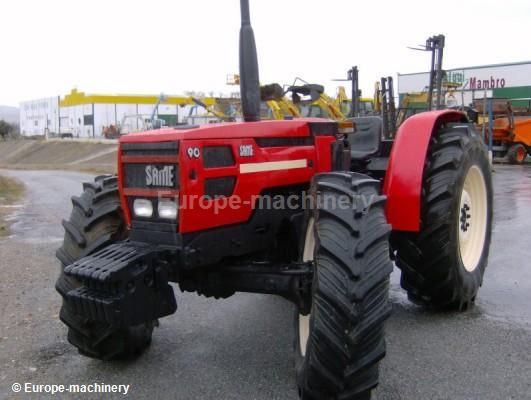 Same Tractor 90 : Same explorer wheel tractor from spain for sale at