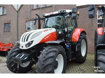 Wheel tractor Steyr profi 4125 8-drive