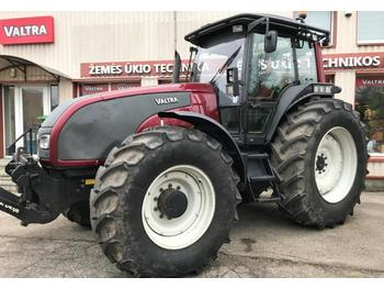 Valtra T170 with forest Equipment  - wheel tractor