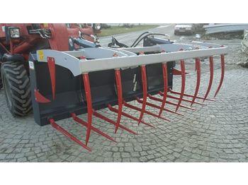 BIG Krokodilgabel 210 cm mit Euro Aufnahme  - Frontlader für Traktor
