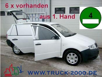 SKODA Fabia Praktik 1.4TDI Grüne Plakette 1.Hand Euro4 - personenwagen