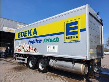 2-Achs Tandem Anhänger + LBW 2500 KG - Kühlkoffer Anhänger