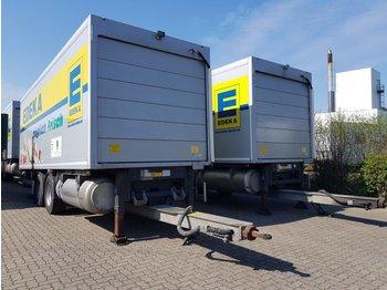 4 x 2-Achs Tandem Anhänger + LBW 2500 KG - Kühlkoffer Anhänger