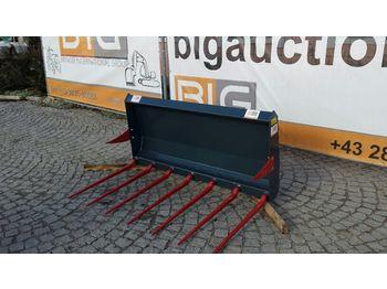 Mistgabel 150 cm passend zu Euro Aufnahme  - încarcator frontal pentru tractor