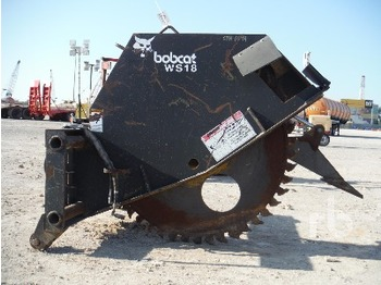 Bobcat Ws18 Wheel Saw Attachment From United Arab Emirates