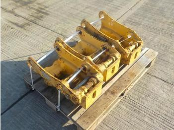 Pallet of CAT QH 45mm Pin to suit 4-6 Ton Excavator (3 of) - bucket