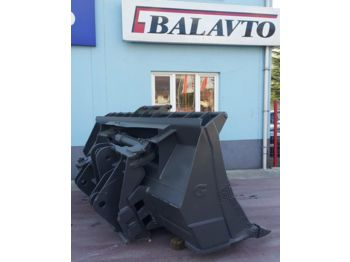 Bucket for loader VOLVO L180 side tipping